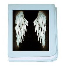 Glowing Angel Wings baby blanket