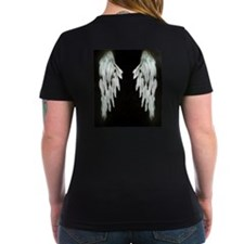 Glowing Angel Wings T-Shirt
