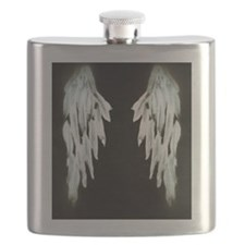 Glowing Angel Wings Flask
