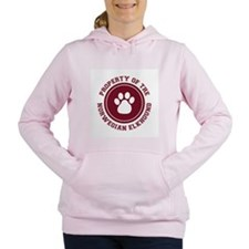 dg-norwegianelkhound.png Women's Hooded Sweatshirt