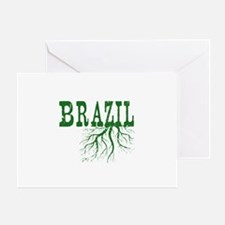 Brazil Roots Greeting Card