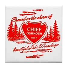 Chief Oshkosh-1960 Tile Coaster