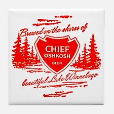 Chief Oshkosh-1960 Tile Coaster