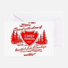 Chief Oshkosh-1960 Greeting Cards (Pk of 10)