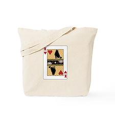 King Curl Tote Bag