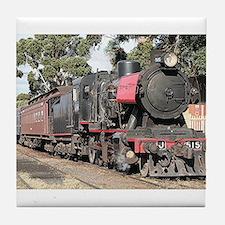 Goldfields steam locomotive, Victoria Tile Coaster