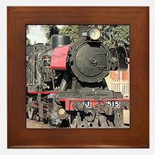 Goldfields steam locomotive, Victoria, Framed Tile