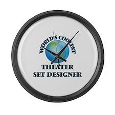 Theater Set Designer Large Wall Clock