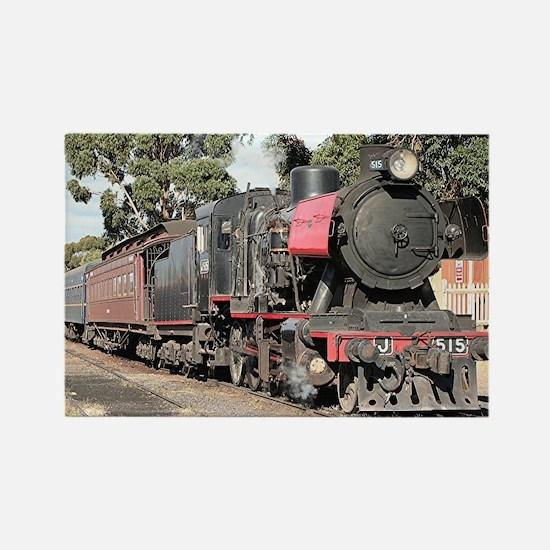 Goldfields steam locomotive, Victoria, Aus Magnets