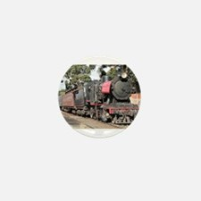 Goldfields steam locomotive, Victoria, Mini Button