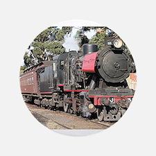 """Goldfields steam locomotive, Victoria, 3.5"""" Button"""