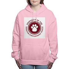 dg-americanstaff.png Women's Hooded Sweatshirt