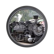 Steam Train: Colorado Wall Clock
