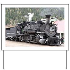 Steam Train: Colorado Yard Sign