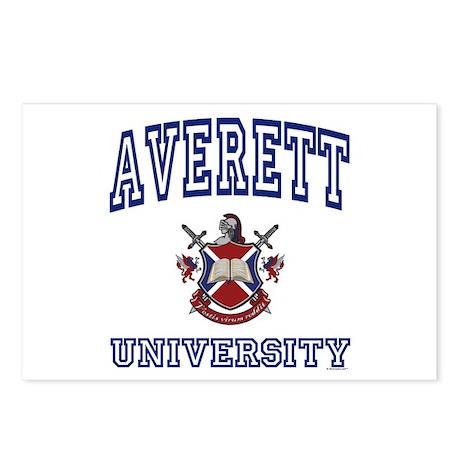 AVERETT University Postcards (Package of 8)