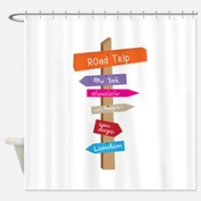 Road Trip Shower Curtain