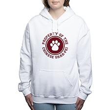 dg-chinesesharpei.png Women's Hooded Sweatshirt