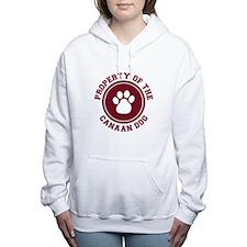 dg-canaandog.png Women's Hooded Sweatshirt