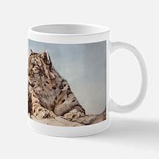 Snow Leopard Small Small Mug