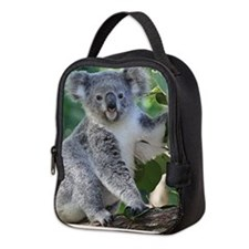 Cute koala Neoprene Lunch Bag