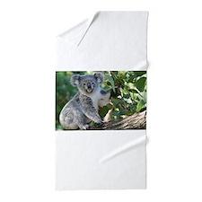 Cute koala Beach Towel