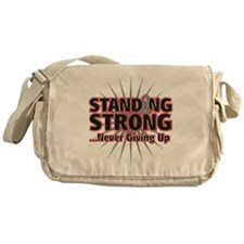 Brain Cancer Strong Messenger Bag