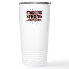 Brain Cancer Strong Travel Mug