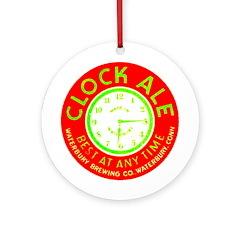 Clock Ale-1937 Ornament (Round)