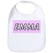 Baby girl name Emma Bib