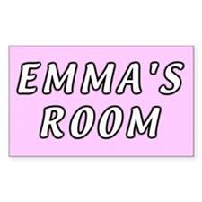 Baby girl name Emma Sticker (Rect.)