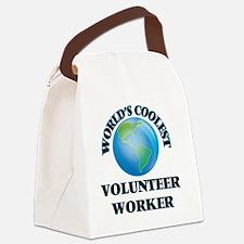 Volunteer Worker Canvas Lunch Bag