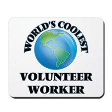 Volunteer Worker Mousepad