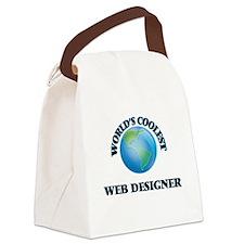 Web Designer Canvas Lunch Bag