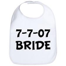 7-7-07  BRIDE Bib