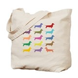 Dachshund Regular Canvas Tote Bag