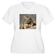 wombat Plus Size T-Shirt