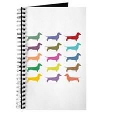 Colorful Dachshunds Journal