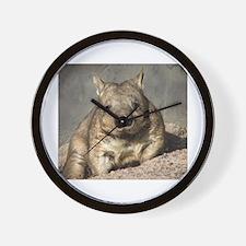 wombat Wall Clock