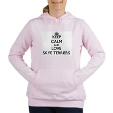Keep calm and love Skye Women's Hooded Sweatshirt