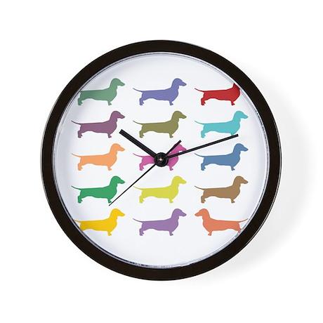Weiner Dog Clocks Weiner Dog Wall Clocks Large Modern