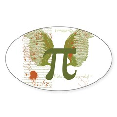 Pi Art Sticker