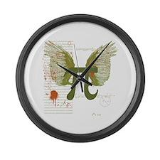 Pi Art Large Wall Clock