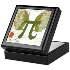 Pi Art Keepsake Box