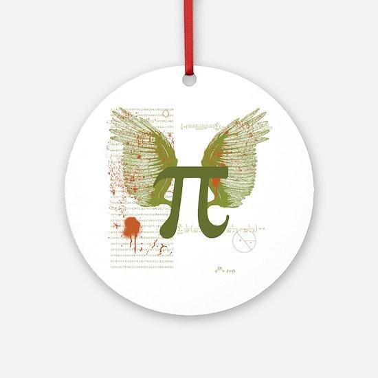 Pi Art Ornament (Round)