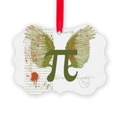 Pi Art Picture Ornament