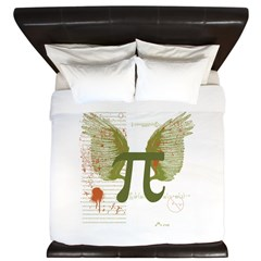 Pi Art King Duvet