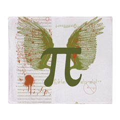 Pi Art Throw Blanket