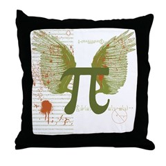 Pi Art Throw Pillow