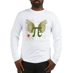 Winged Pi Long Sleeve T-Shirt