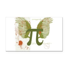 Pi Art Rectangle Car Magnet